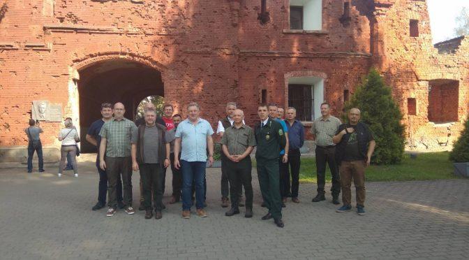 Делегация лесоводов Региональной дирекции лесов Польши в Белостоке посетила Брестчину.
