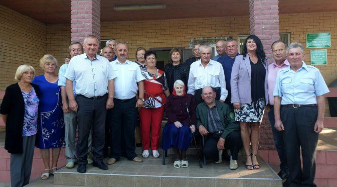 Ветеранов труда Брестского лесхоза поздравили с наступающим праздником!