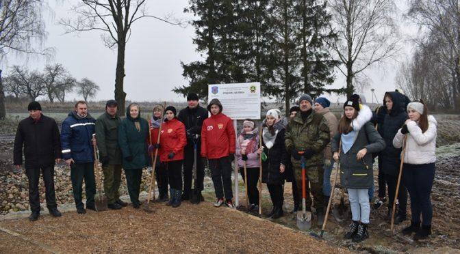 Брестский лесхоз с работниками Каменецкого лесничества приняли участие в акции