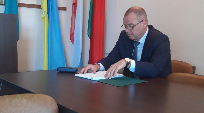 Глава Брестского района Владимир Сенчук посетил Брестский лесхоз